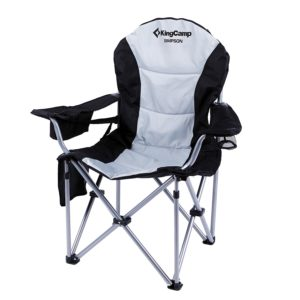 KingCamp Lumbar Support Lightweight Portable Heavy Duty Folding Deluxe Large Size Camping Chair