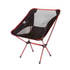 Moon Lence Ultralight Portable Folding Camping Backpacking Chairs with Carry Bag