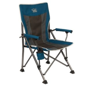 Timber Ridge Smooth Glide Padded Folding Chair, 300lbs, 19.68 x 23.22 x 39.17 inches