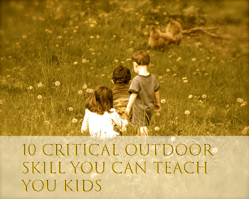 Outdoor Skills for Kids